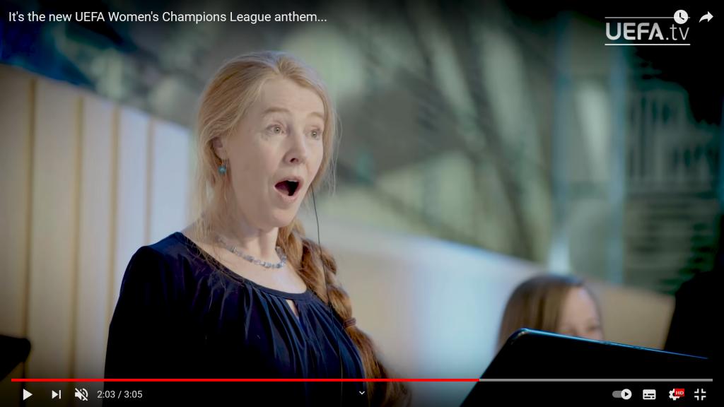 Hymn Liga Mistrzyń